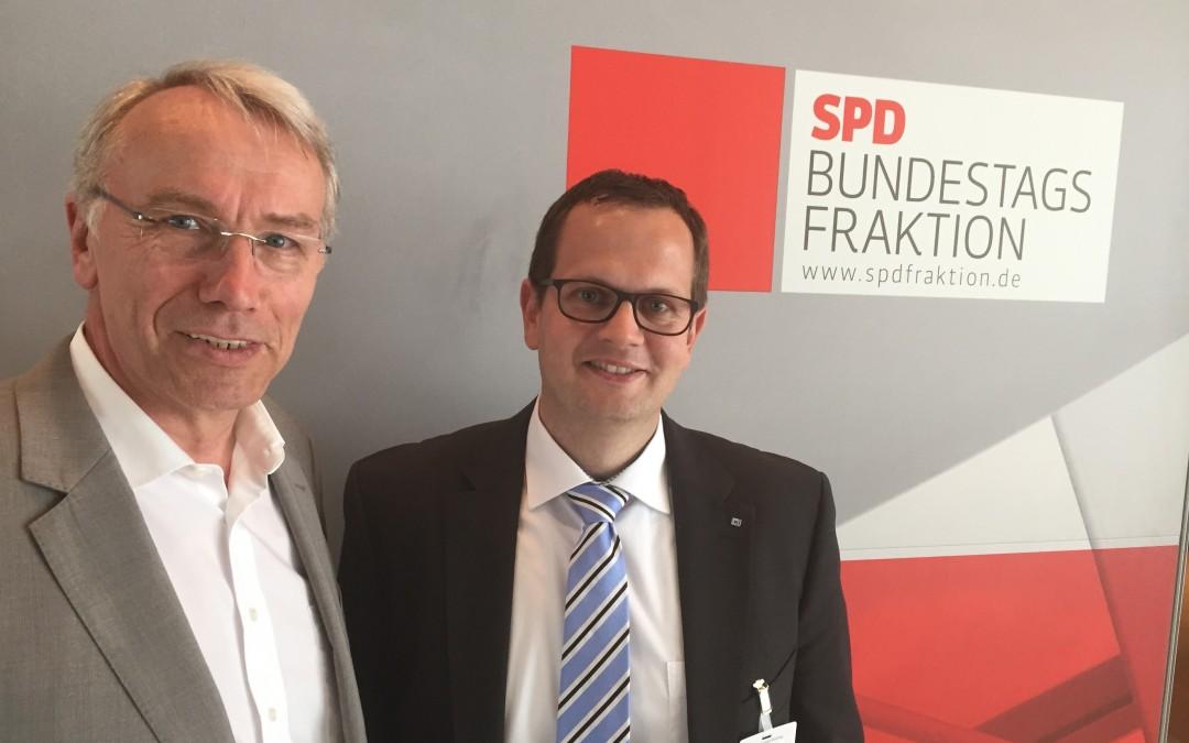 Know-how Transfer Politik trifft Wirtschaft SPD Bernhard Daldrup