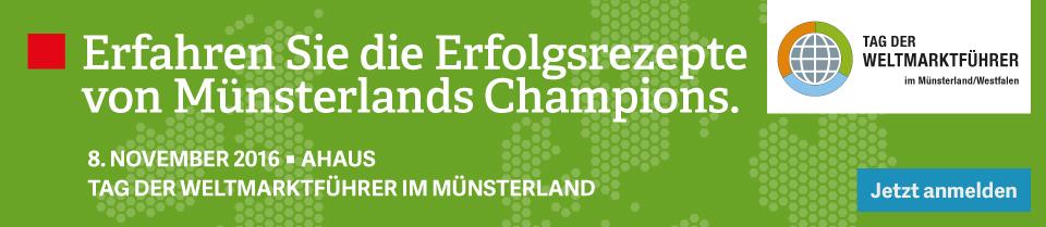 Tag der Weltmarktführer im Münsterland/Westfalen