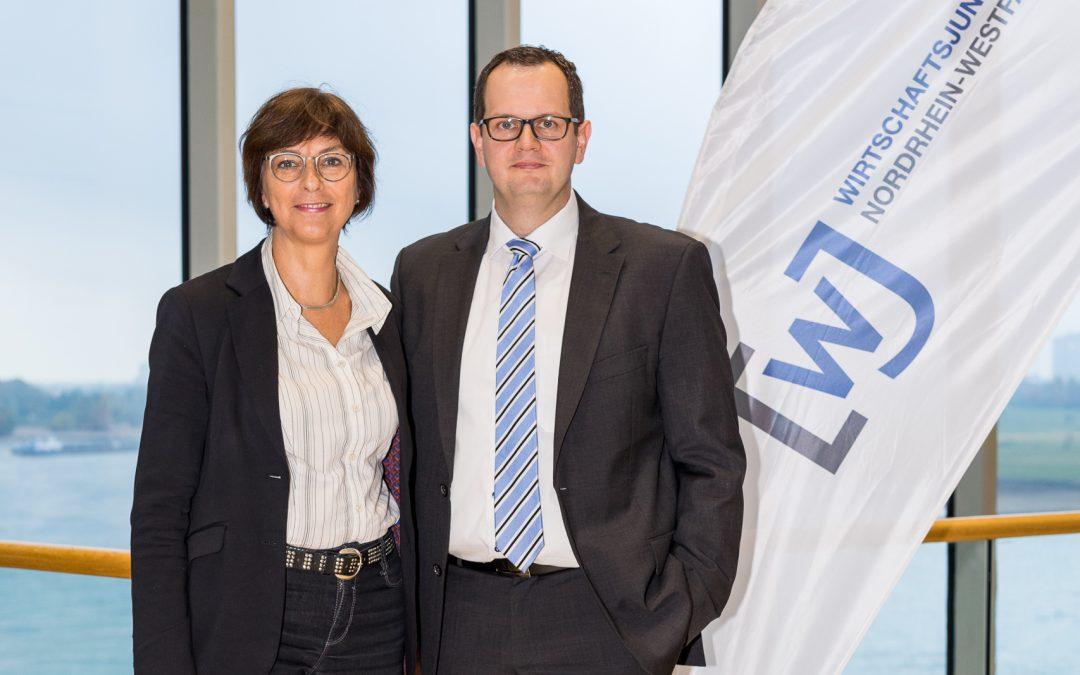 Know-how Transfer Politik trifft Wirtschaft Landtag NRW SPD-Landtagsabgeordnete Annette Watermann-Krass