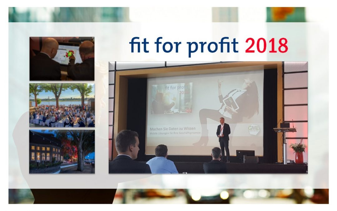 Rückblick FIT FOR PROFIT 2018 in Düsseldorf