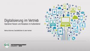 Vortrag: Digitalisierung im Vertrieb - Operativer Nutzen & Akzeptanz im Außendienst