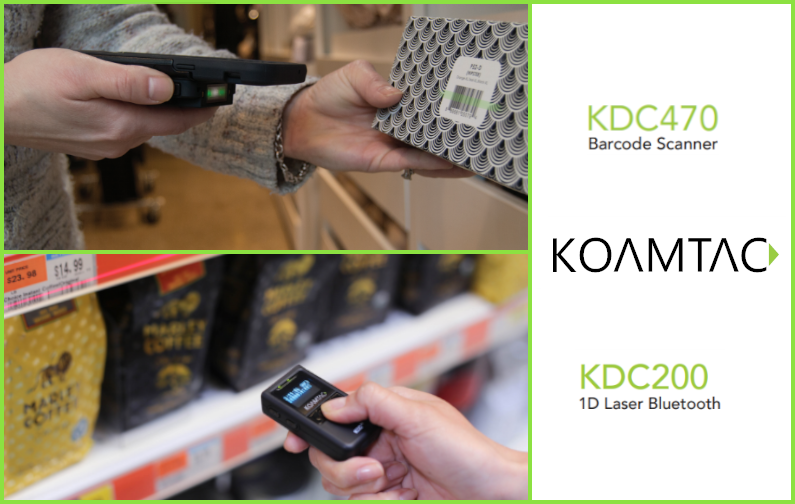 Mobile Scanner von KOAMTAC an Vertriebs-App 2Bmobil*Sales angebunden