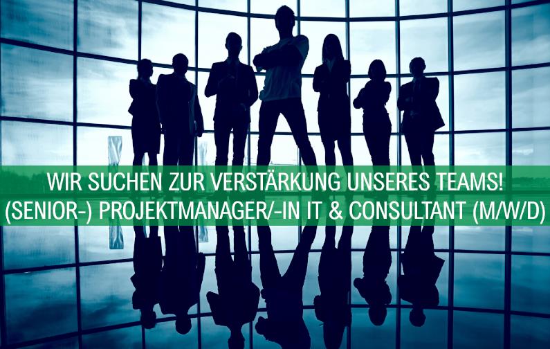 Wir suchen Sie als (Senior-) Projektmanager/-in IT & Consultant!