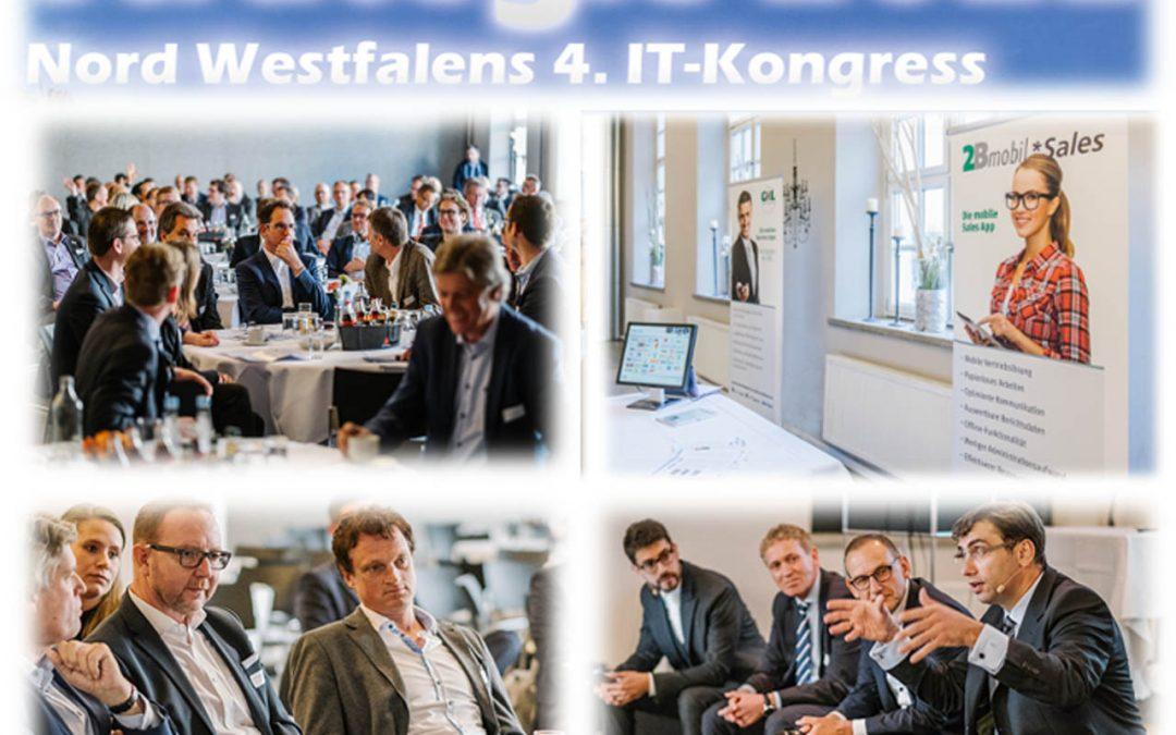 Rückblick auf den 4. IT-Kongress für Geschäftsführer, Entscheider und Führungskräfte in Münster